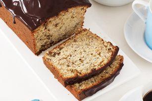 Chocolate-Glazed Banana Bread recipe