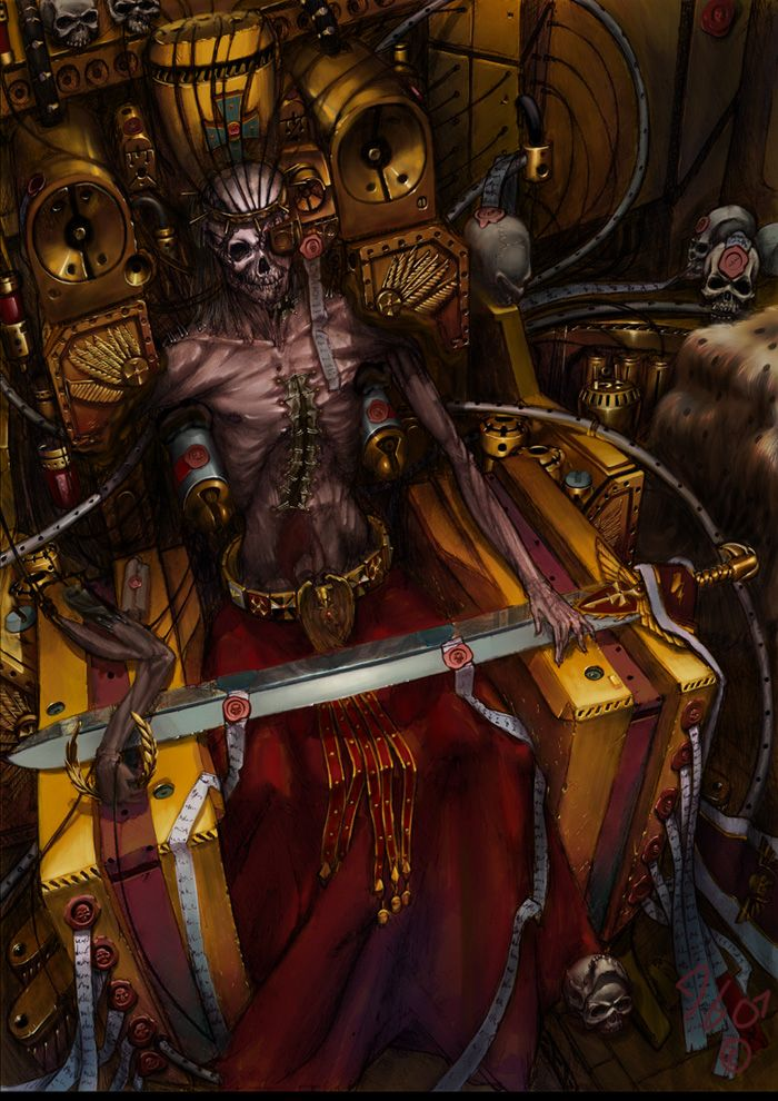 40 k emperor by DESTRAUDO.deviantart.com on @DeviantArt