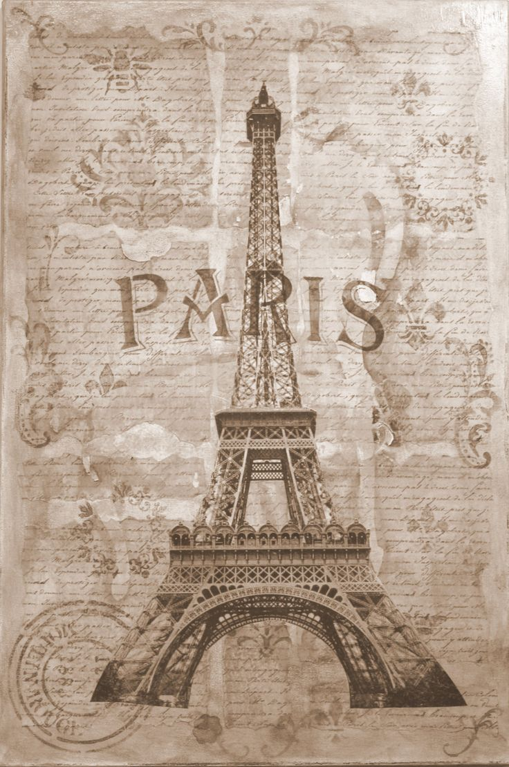 Paris Poster by SuzysJunque on Etsy