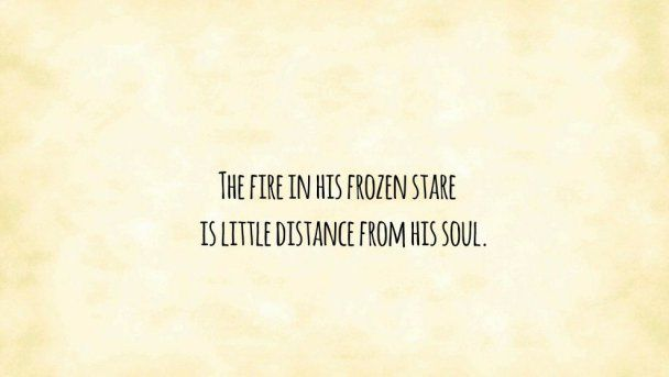 The fire in his frozen stare #poetry #poem #poet #sarandipity #serendipity #love #quotes #sara #campbell