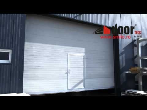 Usa industriala sectionala doorTECK® | Smilo Holding - YouTube
