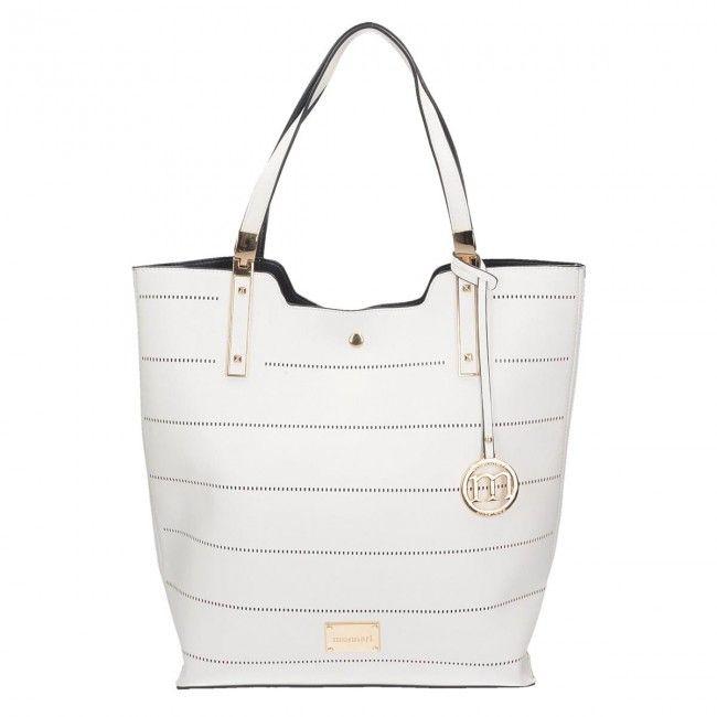 Luxusná kabelka 2v1 na rameno MONNARI MON7680-white