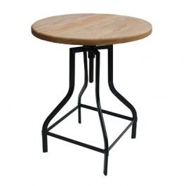 $269, one of best value tables inside, 700 height, Industry Table Round (Wood)