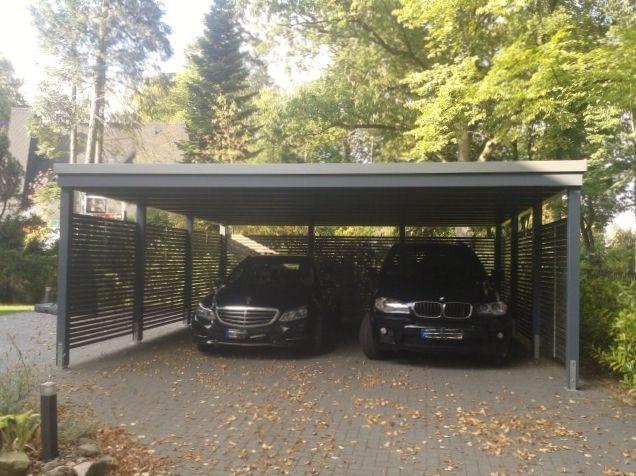 Garage mit carport modern  Die besten 20+ Carport mit geräteraum Ideen auf Pinterest ...