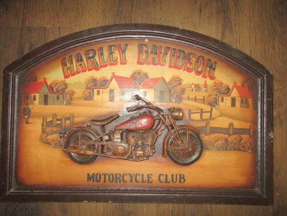 25 best Harley davidson signs ideas on Pinterest  Harley davidson shop Biker bar and Harley