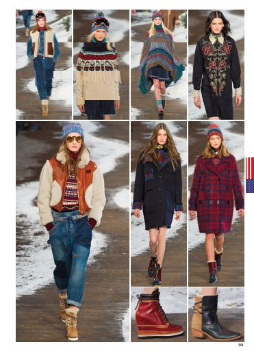 From New York Fashion Show: TOMMY HILFIGER. #newyork #catwalk #fashionshow #fashion #style #look #women #fall #winter #2014 #2015 #pretaporter #tommyhilfiger @Tommy Hilfiger