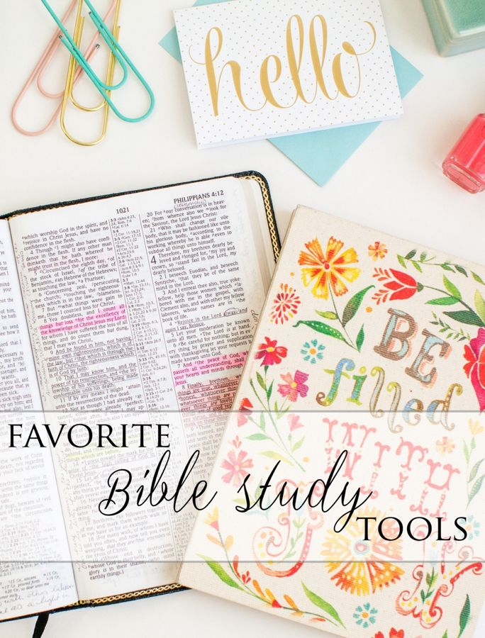 Favorite Bible Study Tools