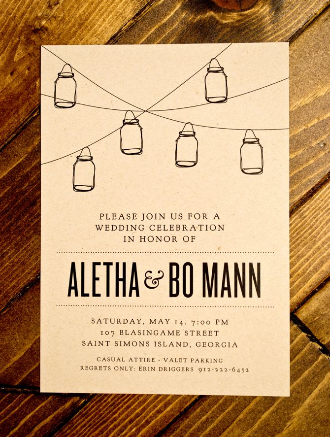 25+ best ideas about backyard wedding invitations on pinterest, Wedding invitations