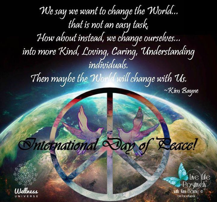 World Peace Day 2015 image 15 25 Peace Inspiring Images and World Peace Day Event!  #MotivationMonday #InternationalPeaceDay2015 #PeaceDay #WUVIP #WorldPeace #WorldPeaceDay #PeaceMovement #Peace this poster contributed by @KimLLP see all 25 by clicking image