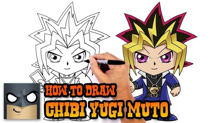 How to Draw Yugi Muto (YuGiOh) Drawing Tutorial Video