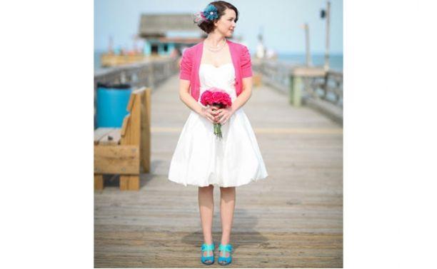 Noiva - Vestido - Vestidos de noiva curtos - Figurino Noivas - O melhor site de casamento com agenda da noiva!