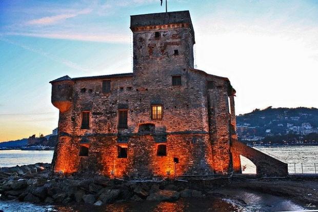 Castello di Rapallo-Liguria
