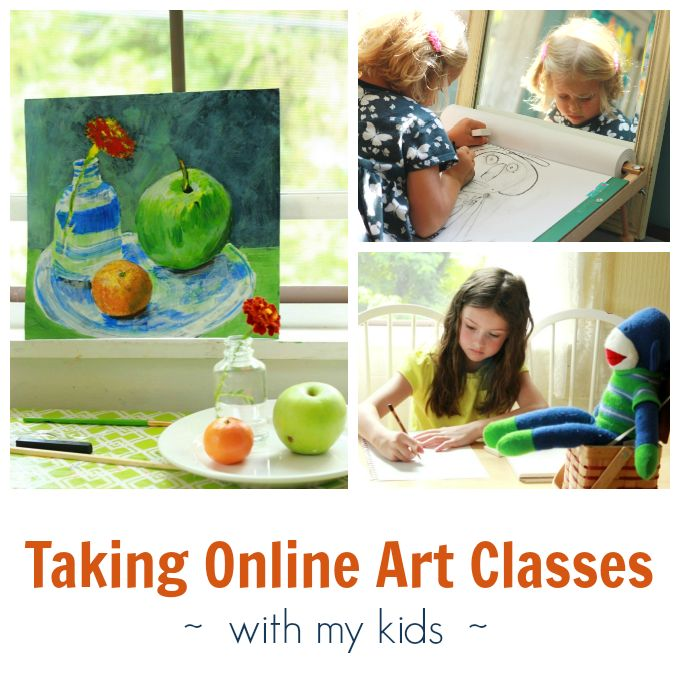 A round-up of the online art classes I've been taking by myself and with my kids, all at half-off through Craftsy. Plus some free eGuides to try...