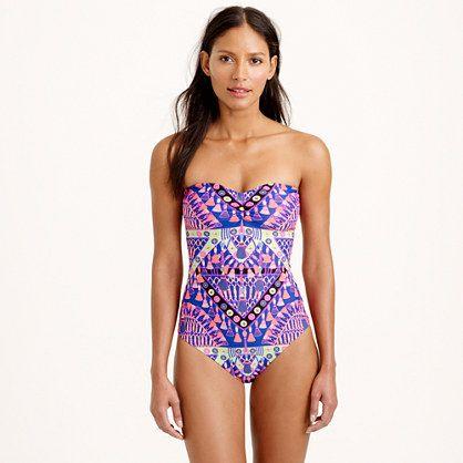 J.Crew - Mara Hoffman® braided-back one-piece swimsuit