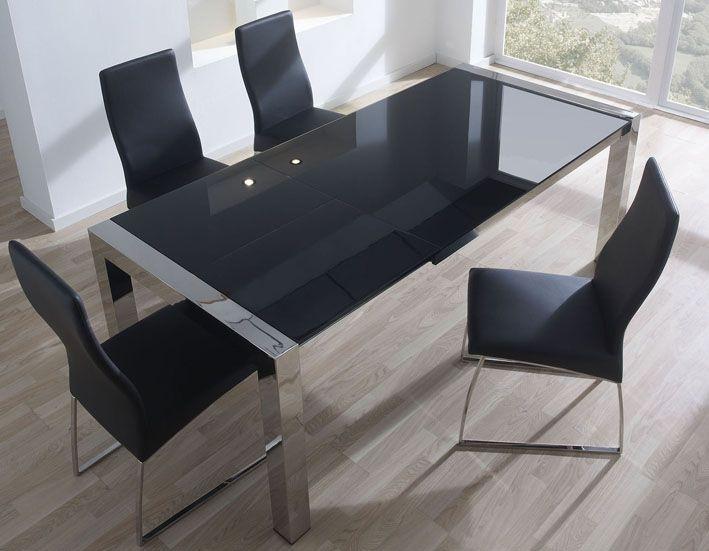 Mesa extensible y sillas muebles auxiliares pinterest for Muebles vila de cambre