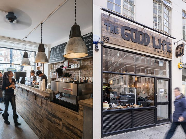 The Good Life Eatery By Coupdeville Architects London UK Retail Design Blog