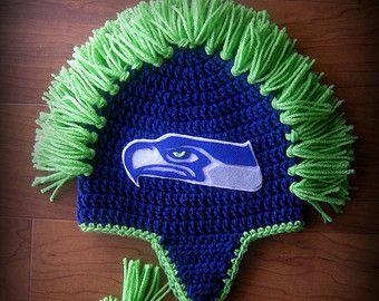 Seahawks Earflap Hat Pattern  87fceff5069