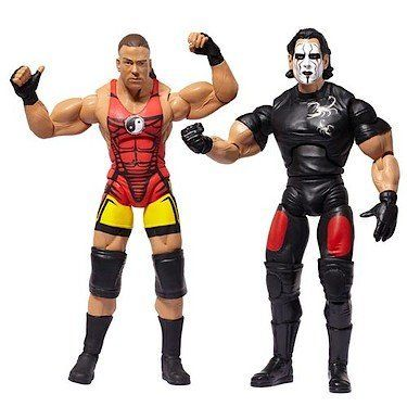 TNA Wrestling Cross the Line Series 4 Action Figure 2Pack RVD Sting by Jakks. $11.99. TNA Wrestling Cross the Line Series 4 Action Figure 2Pack RVD Sting. Go inside the ring with Total Nonstop Action Wrestling and their all new Cross the Line action figure 2packs! Get double the excitement as you build your collection of TNA wrestlers, based around tag team pairings, famous battles, and legendary pairings. Each figure is fully articulated, and they come with accessories f...
