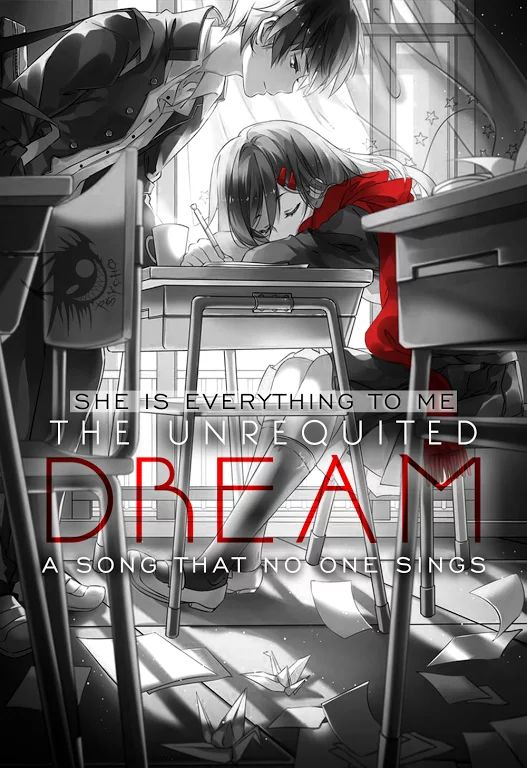 Photo: She is everything to me. The unrequited dream. A song that no one sings. #Animeart // #Anime // #Photoshop // #Edit // #Quote // #Truthbetold