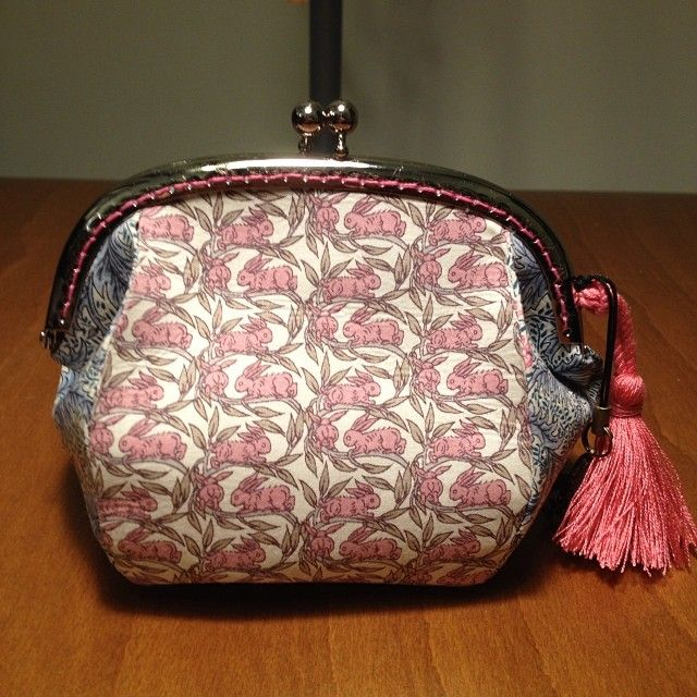 Coin purse liberty handmade My work Rinee