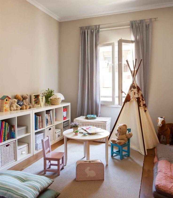 M s de 25 ideas incre bles sobre almacenaje juguetes en for Dormitorio nina barato