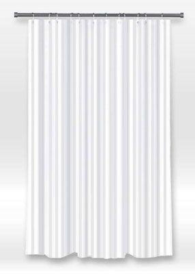 Rue De Marseille Washable Fabric Shower Curtain Liner