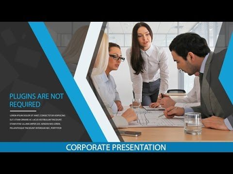Corporate Presentation | After Effects Template | Royalty Free Video