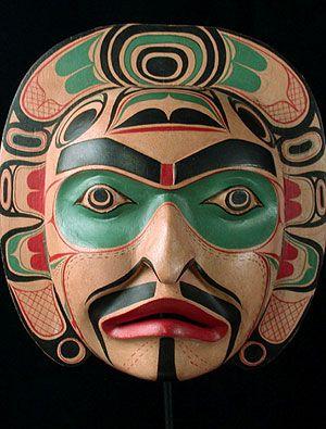 Kwakiutl Indian mask #piel #shoppiel #inspiration