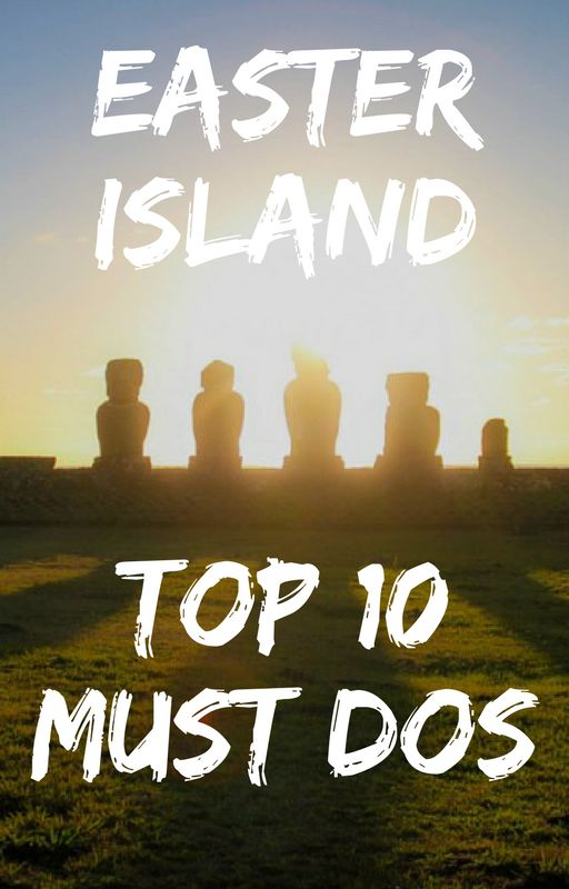 Easter Island Travel Guide - Top Things to do In Easter Island Chile. Isla de Pascua / Rapa Nui! UNESCO easter island statues moai. Easter Island on a budget. Places you have to go in South America. Best places to see in Chile. Rano Kau Crater, Anakena beach, Ahu Tongariki, Ahu Tahai, scuba dive with moai, Rano Raraku, quarry of the Moais. Bucket list dreams/ travel goals ☆☆ Travel Guide / Ideas by #Inspiredbymaps ☆☆