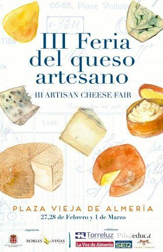 Feria de quesos artesanos