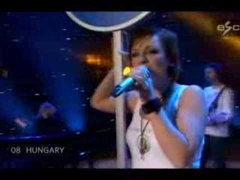 Eurovision SC Final 2007 - Hungary - Magdi Ruzsa - YouTube