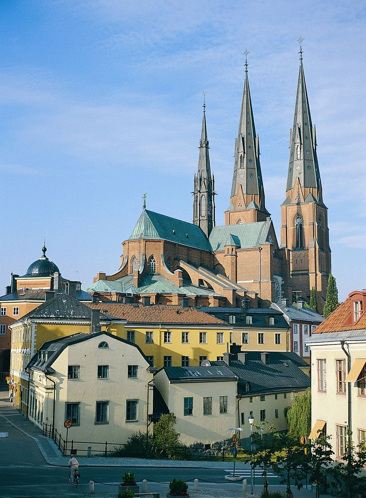 #3: Uppsala  My mom grew up here in this beautiful city, hosting the largest cathedral in Sweden! Adam and Lovisa Spaude live here now.