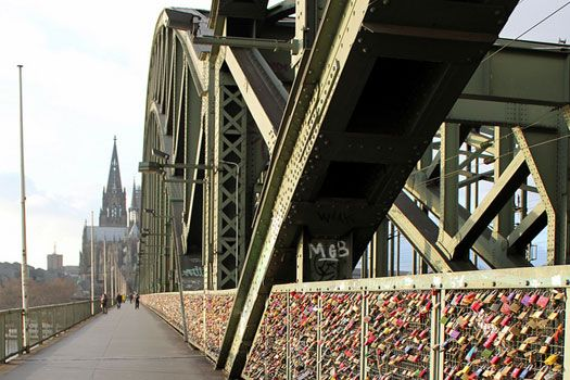 Cologne, #Germany • UPLOAD the your SELFIE picture and get 10% SALE on http://lovelockstore.com #lovelockstore  #lovelockstory #lovelocks #lovelockbridge