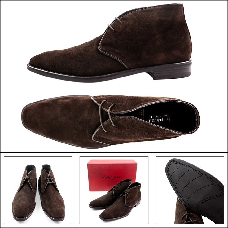 DONALD J PLINER Bishop Brown Suede Chukka Boots Shoes  |  Get in there! http://www.frieschskys.com/footwear/boots  |  #frieschskys #mensfashion #fashion #mensstyle #style #moda #menswear #dapper #stylish #MadeInItaly #Italy #couture #highfashion #designer #shopping