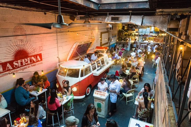 Tacombi, Nolita.  Born on the balmy beaches of the Yucatan, serving tacos out of a converted VW bus, Tacombi shares authentic Mexican taco culture from neighborhood taquerias.