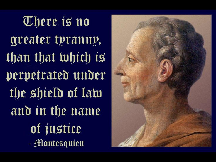 The life of montesquieu a french lawyer
