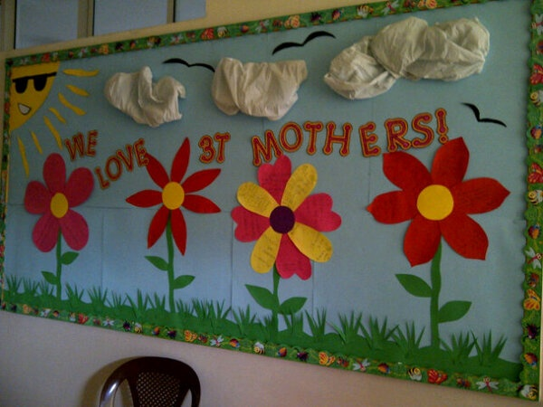 Mother S Day Classroom Decoration Ideas : Mothers day bulletin boards work ideas pinterest
