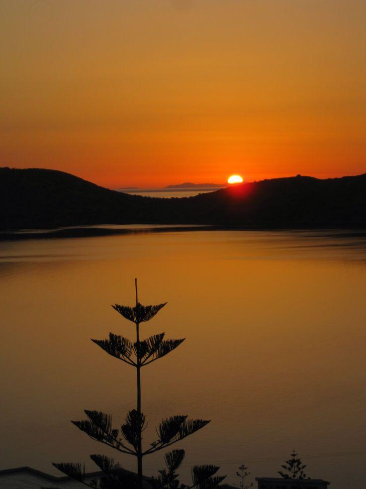 Sunrise from Elounda - Crete, Greece