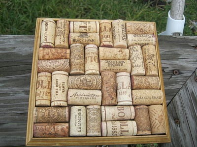 A practical use for all those wine corks!