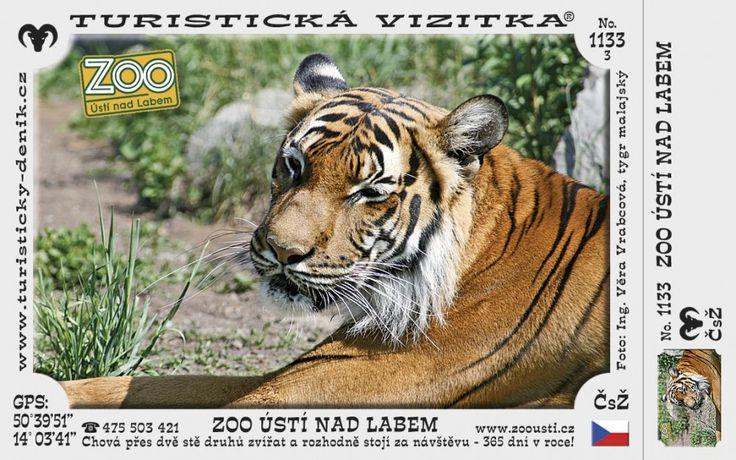 CZ-1133 - Zoologická zahrada Ústí nad Labem