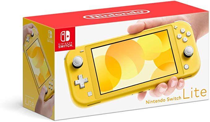 Amazon Com Nintendo Switch Lite Yellow Video Games Nintendo Switch Nintendo Nintendo Switch System