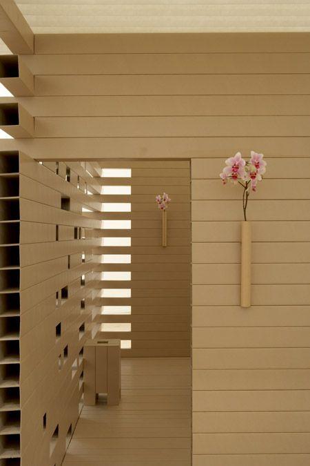 Paper Tea House by Shigeru Ban