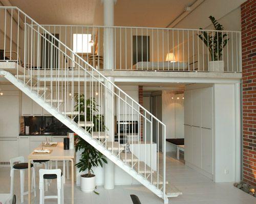 Loft asumista Helsingin Tapanilassa Photo: Skanska Kodit