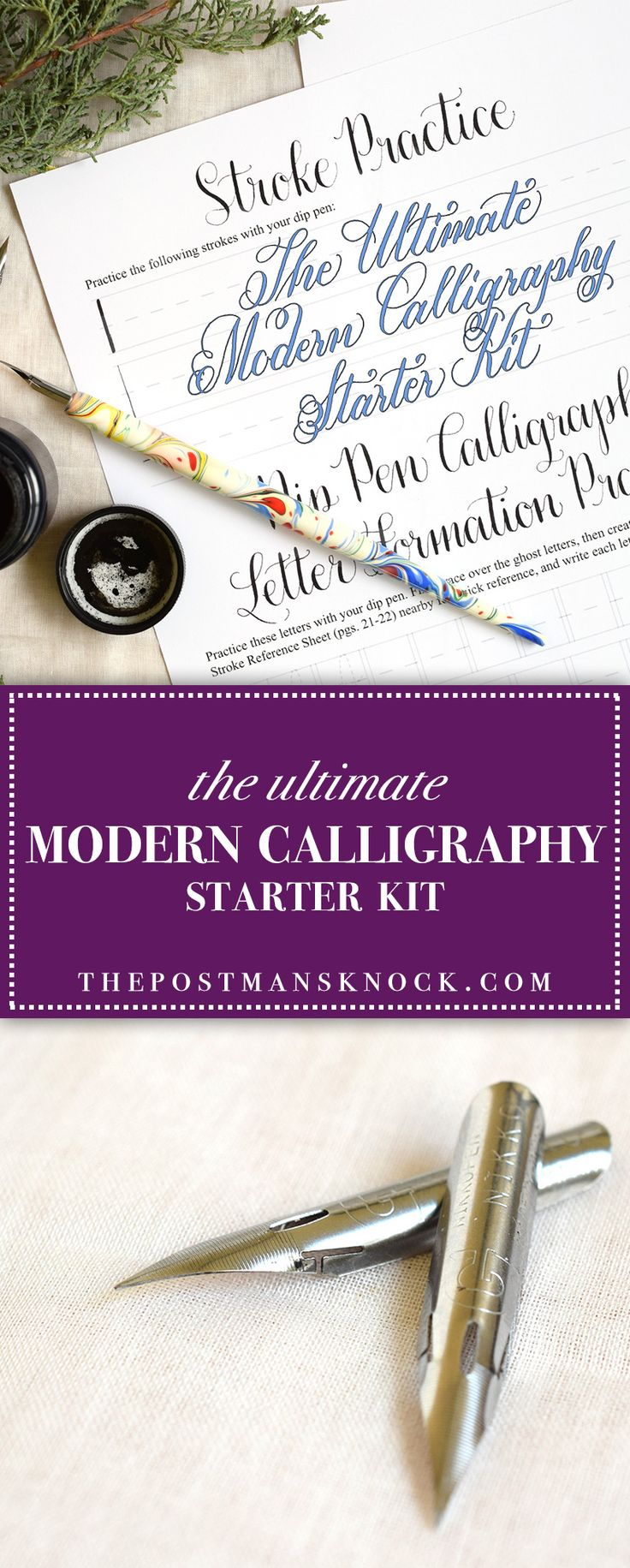 The Ultimate Modern Calligraphy Starter Kit