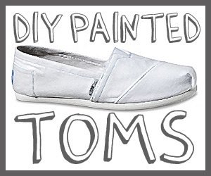 how to paint TOMS
