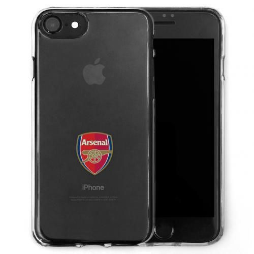 Transparent shock-proof Arsenal iPhone 7 case featuring the club crest in full colour. Offers first-rate protection if dropped. FREE DELIVERY on all of our gifts