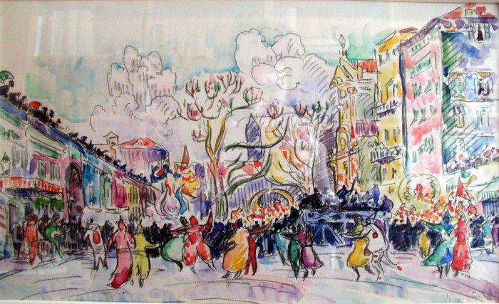Καρναβάλι στη Νίκαια - Paul Signac