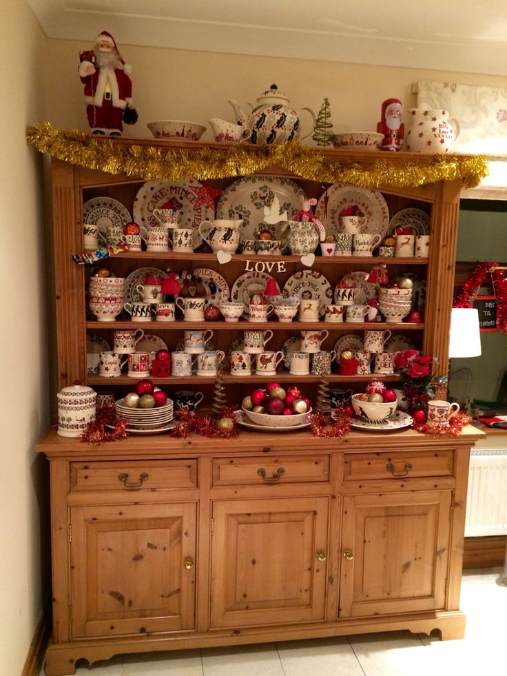 First take of Christmas dresser 2014!