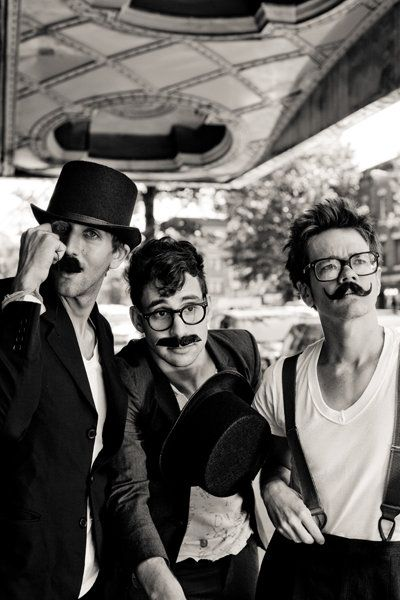 fun. wearing mustaches... two of my favorite things in a single photo (photo by Elizabeth Weinberg)