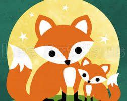 fox themed nursery
